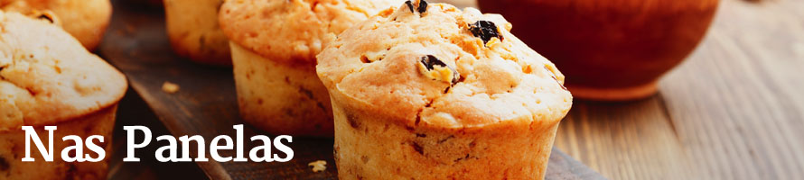 Cupcake de linhaça com mel