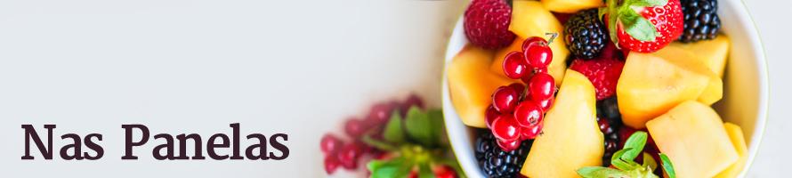 Salada de frutas assada