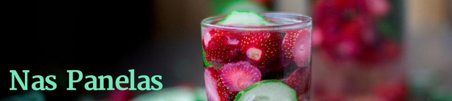3 receitas de água saborizada