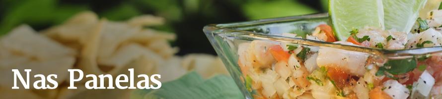 Ceviche de camarão