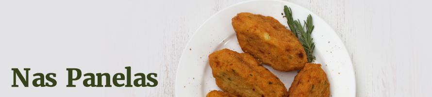 Croquete de batata e cenoura assado