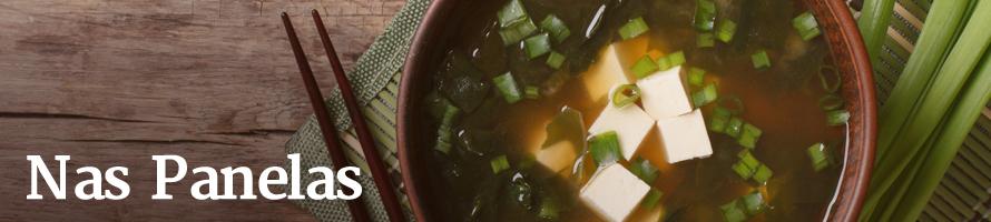 Sopa de Missoshiru com Tofu