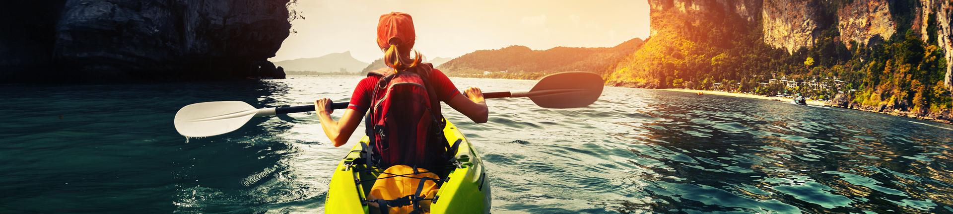 Os benefícios da canoagem