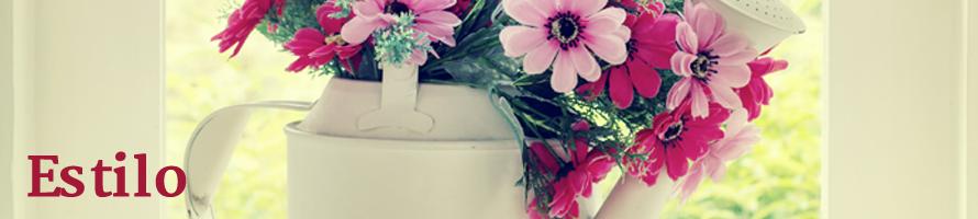 Flores na decoração!