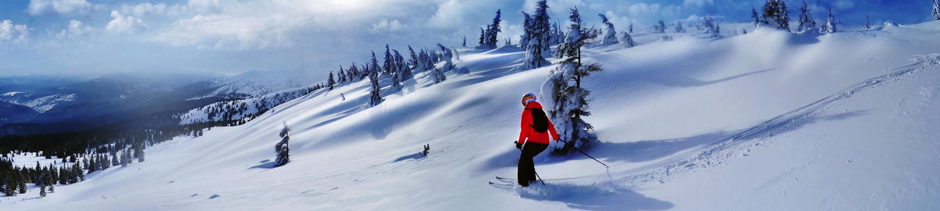Lugares para esquiar na América do Sul