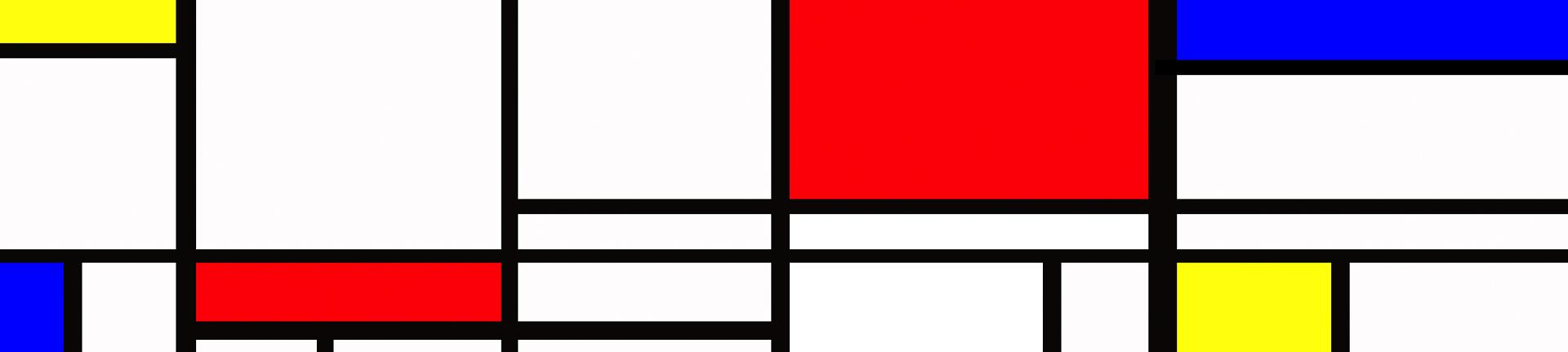 """Exposição """"Mondrian e o movimento de Stijl"""""""