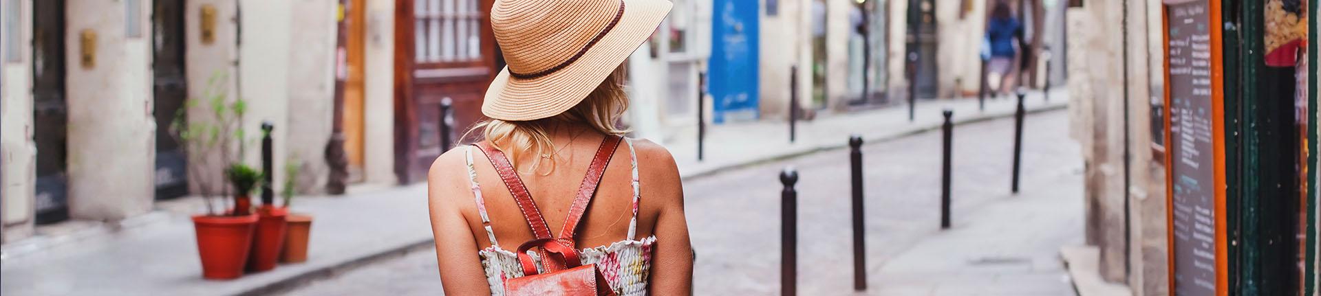 Cidades turísticas boas para se caminhar