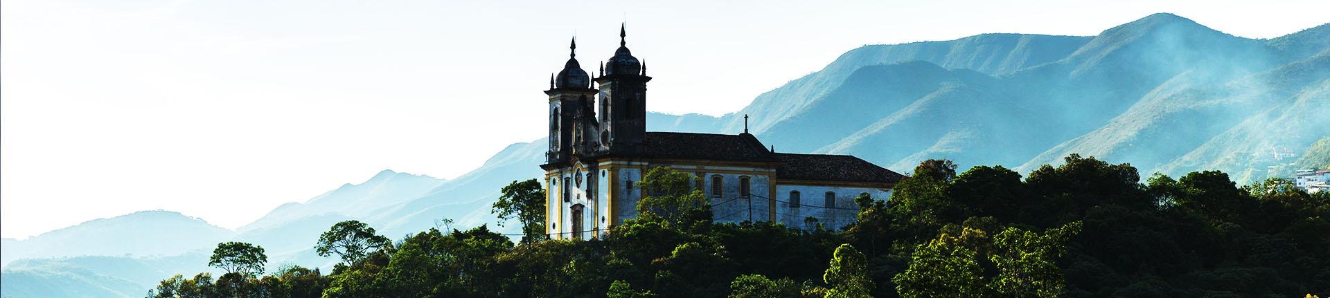 Lugares históricos no Brasil para um passeio cultural