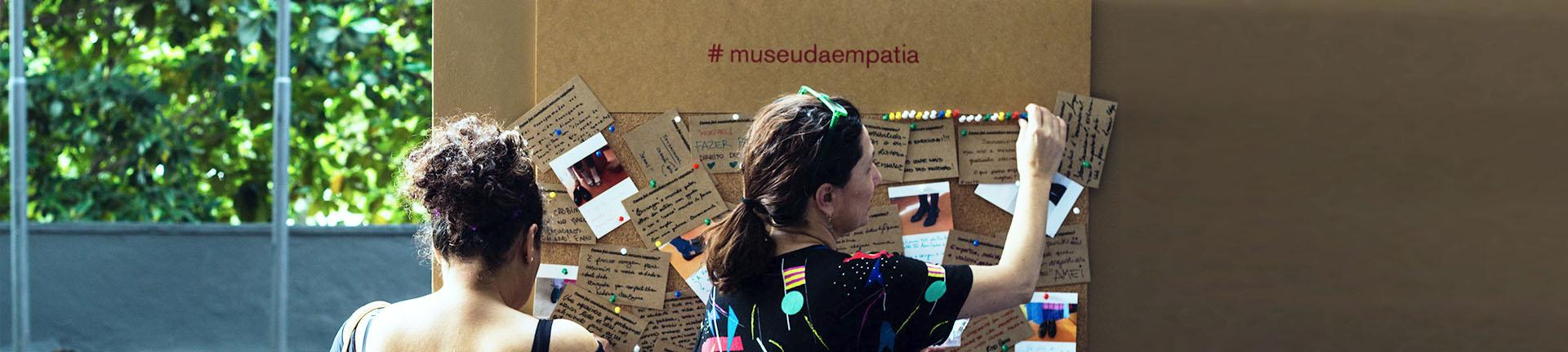 Museu da Empatia chega ao Brasil