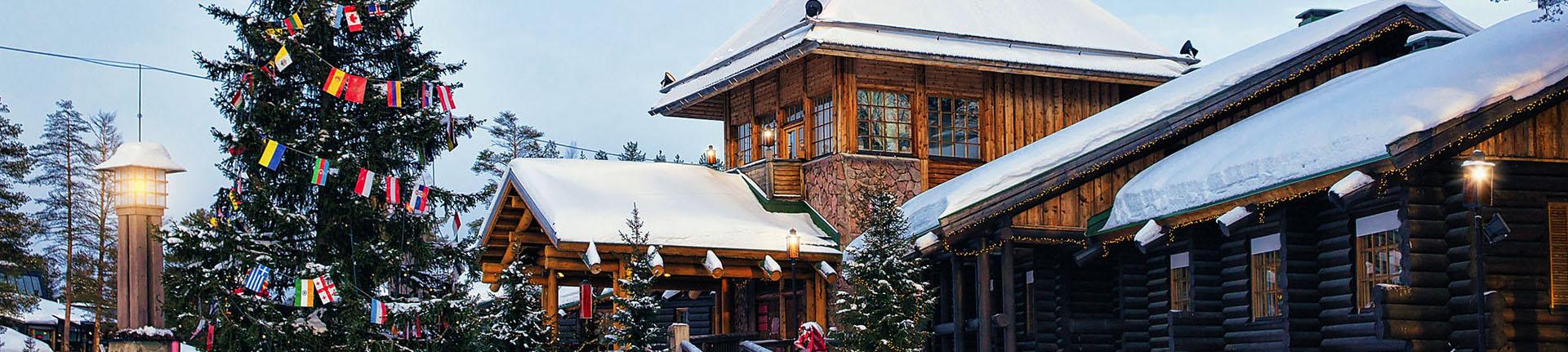 Finlândia e as comemorações no mês do Natal