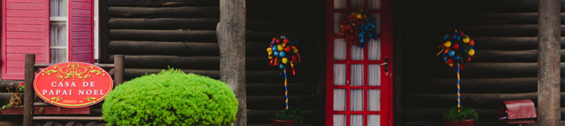 Casa do Papai Noel em Penedo: diversão para a família