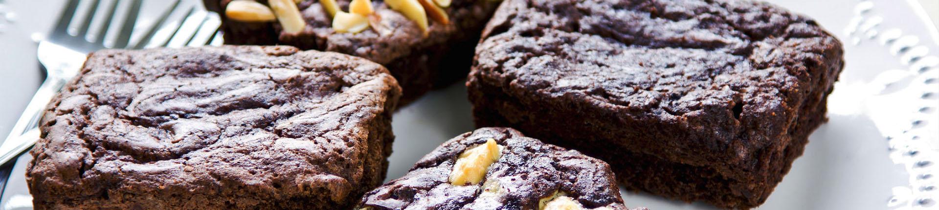 Brownie fit para uma sobremesa saudável