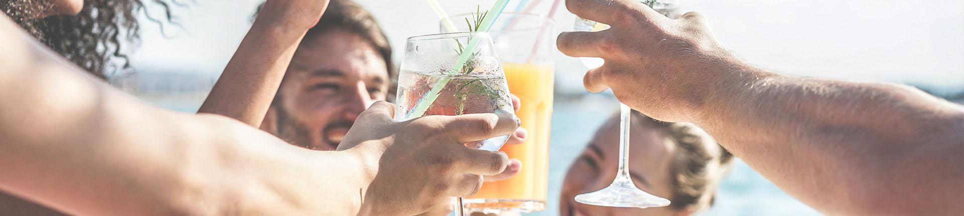 Diferentes efeitos do álcool no corpo