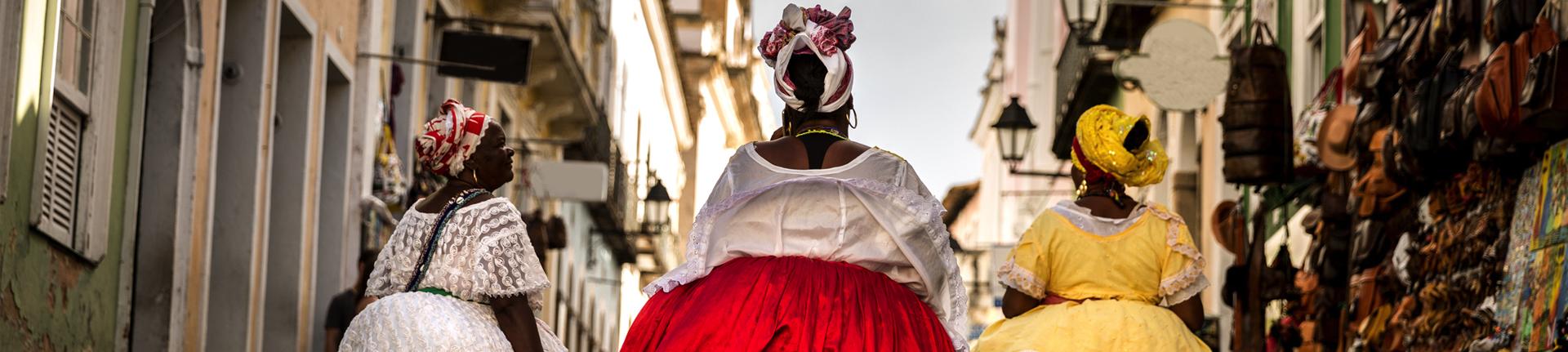A moda e história das tias baianas