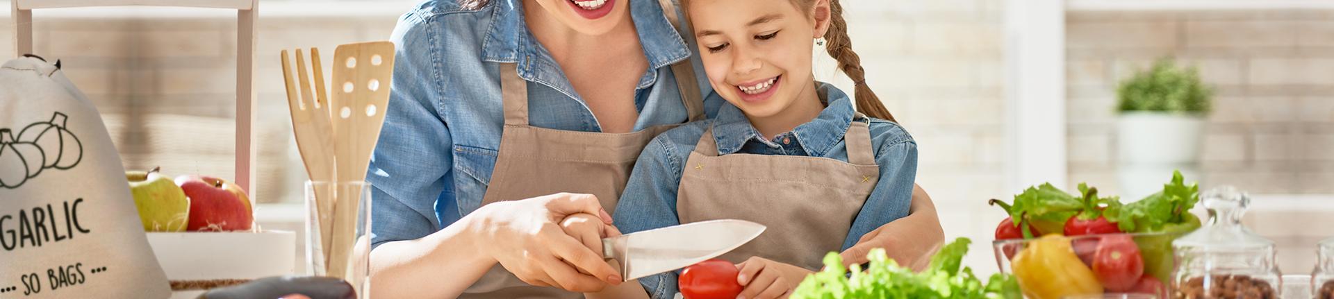 Saladas especiais para a alimentação infantil