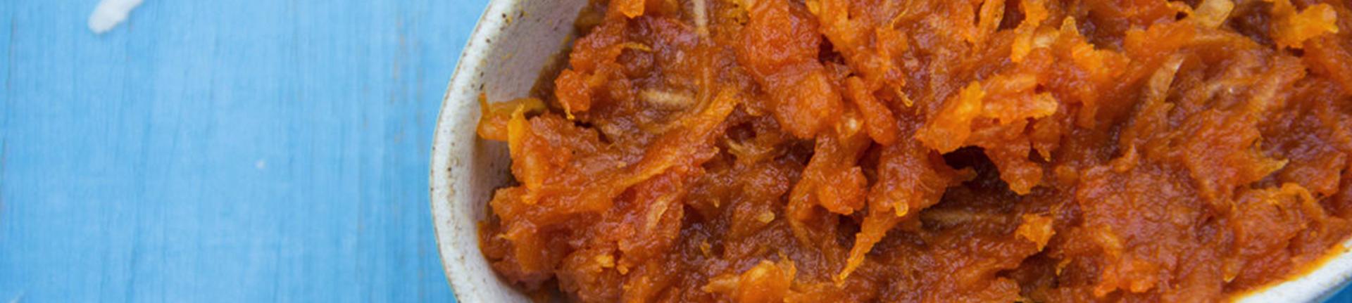 Doce de abóbora com coco, receita da Bela Gil