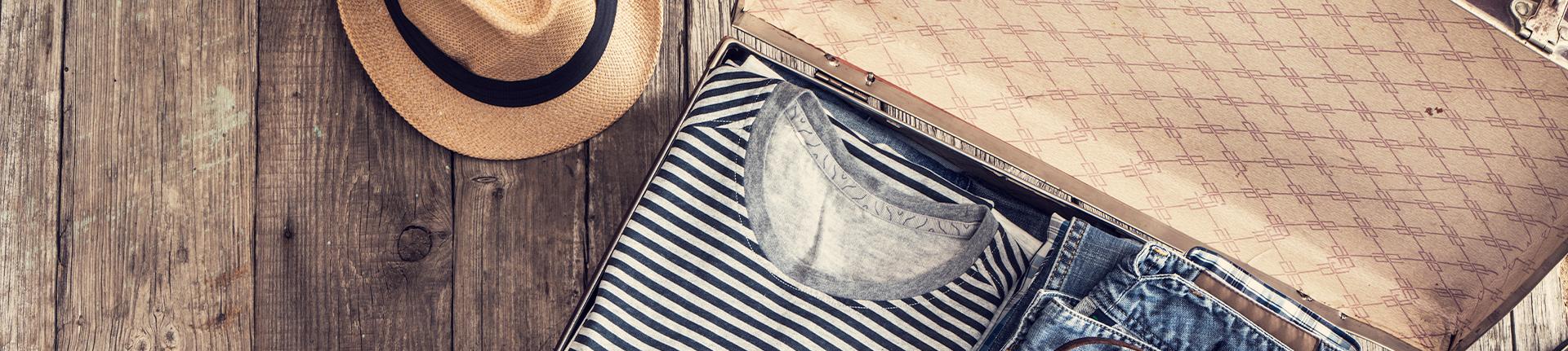 Arrumar a mala para as férias: peças coringas