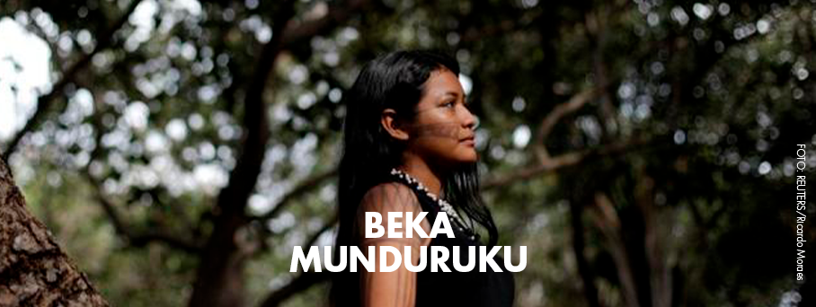 Beka Munduruku, uma voz adolescente da Amazônia