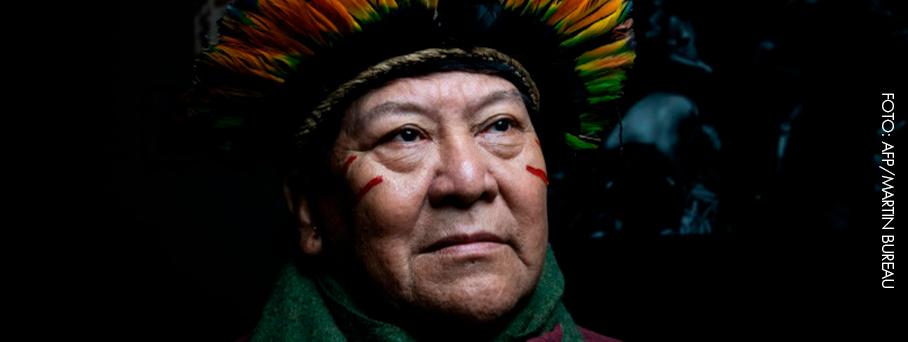Davi Kopenawa, uma voz Yanomami