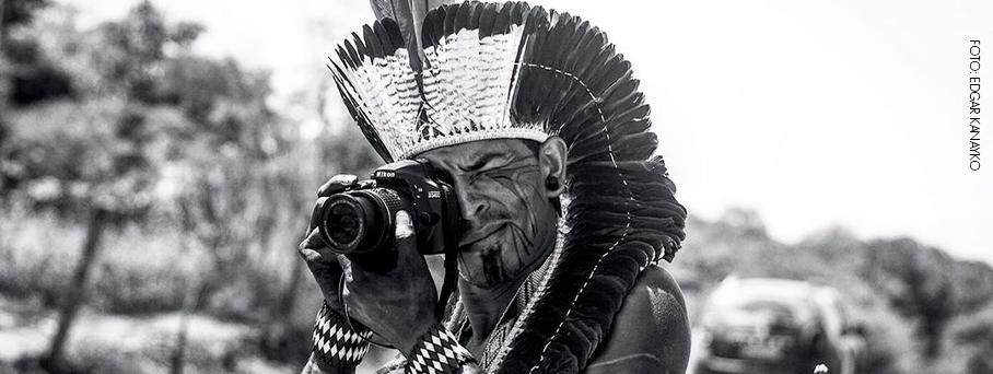 Edgar Kanaykõ Xakriabá e a etnofotografia