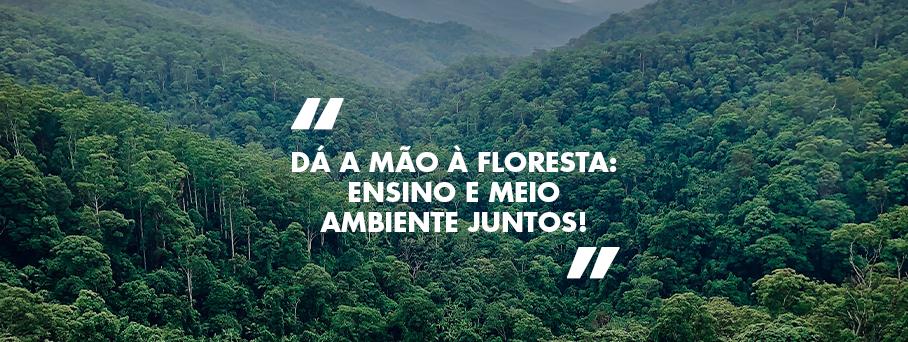 Dá a Mão à Floresta: ensino e meio ambiente juntos!
